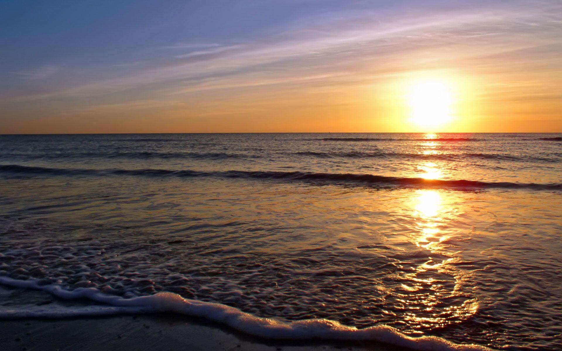 Beach Sunset HD Wallpapers | fbpapa.