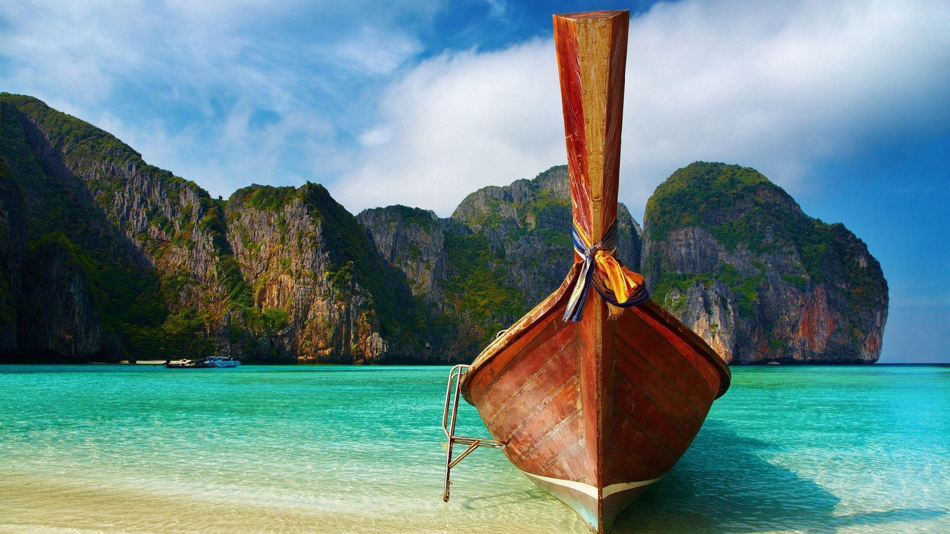 1920x1080 Thailand Exotic Beach Wallpaper