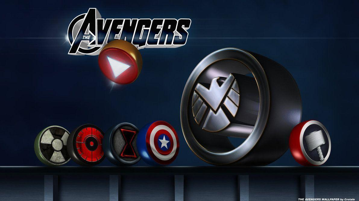 Wallpapers For > Avengers Logo Wallpapers Iphone