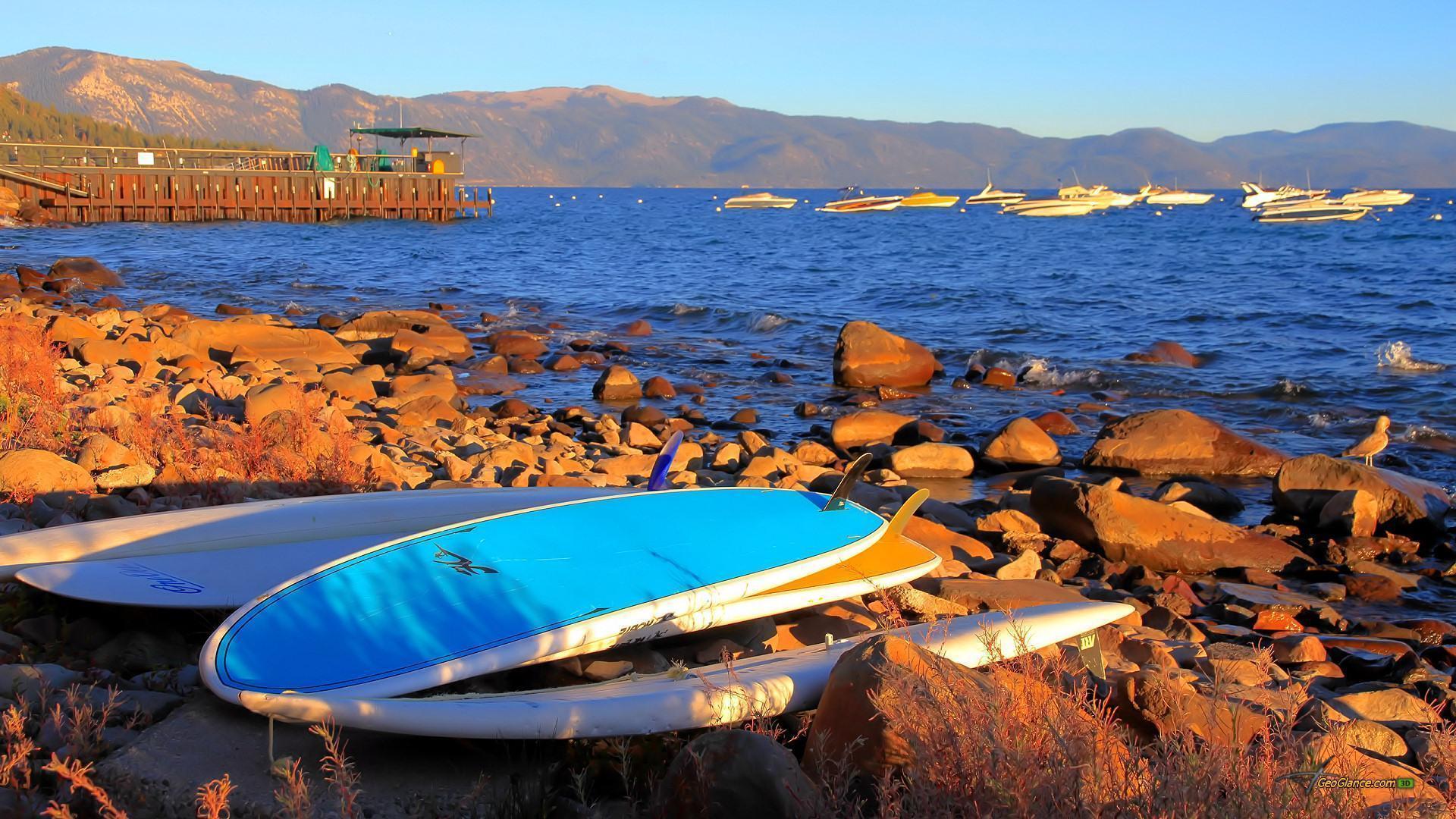 Surfboard Desktop Wallpaper