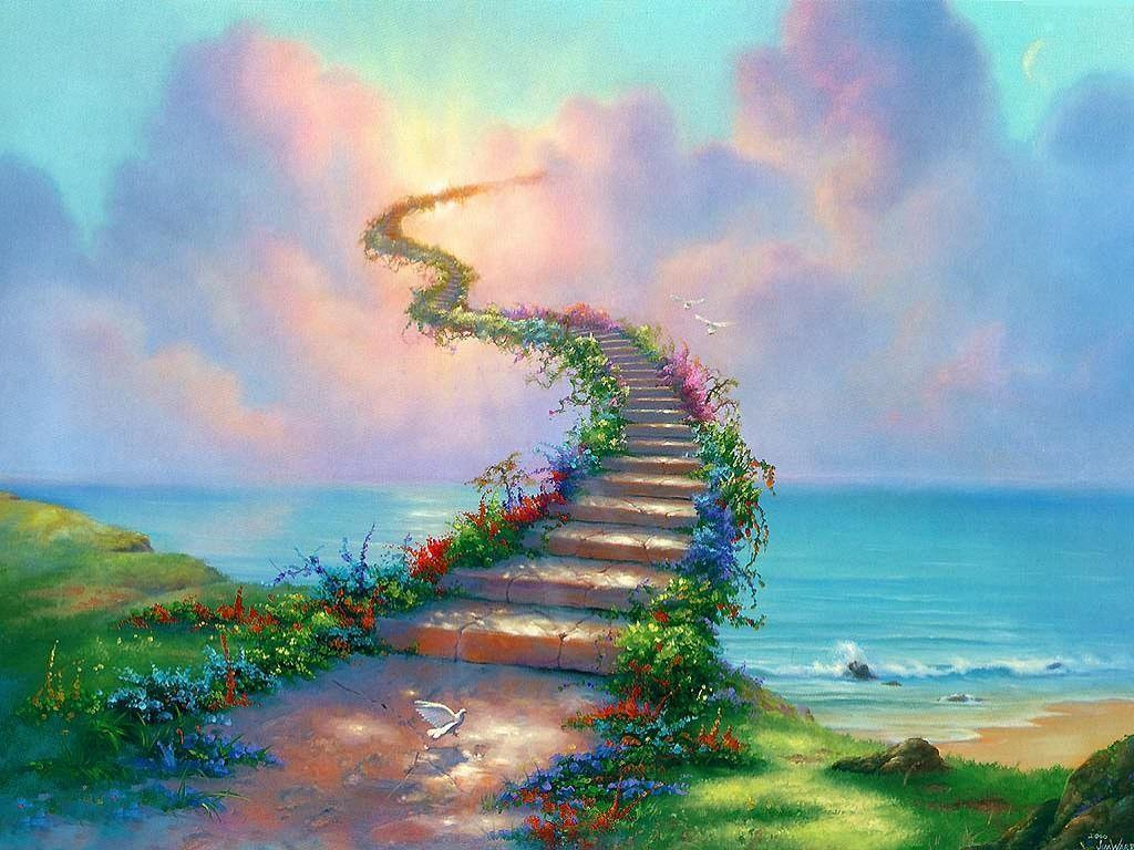 stairway to heaven background - photo #18