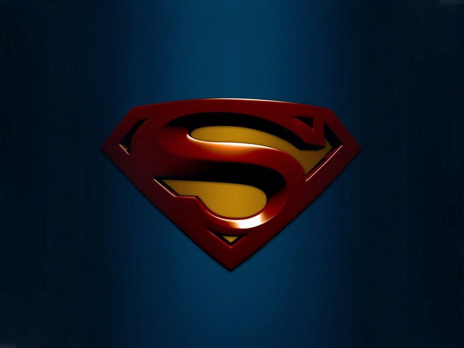 Superman Logo Backgrounds - Wallpaper Cave
