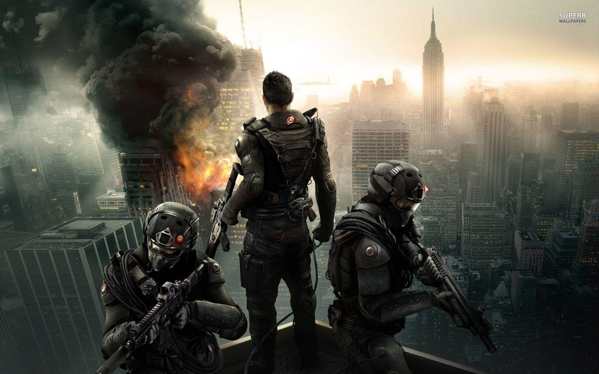 Tom Clancy's The Division Game wallpapers (125 Wallpapers ...