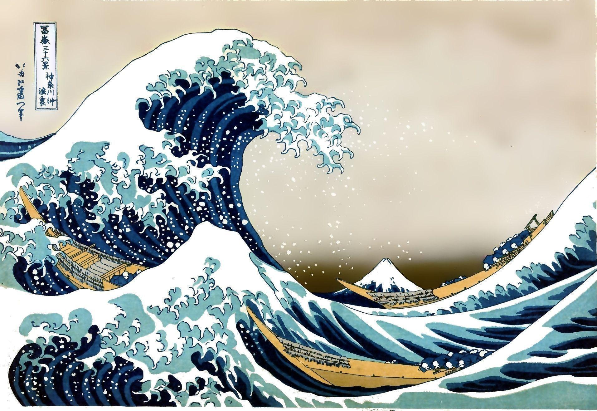 The Great Wave Off Kanagawa Wallpapers - Wallpaper Cave
