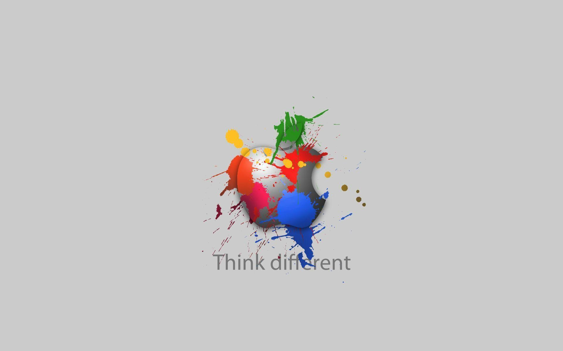 think different apple wallpapers wallpaper cave
