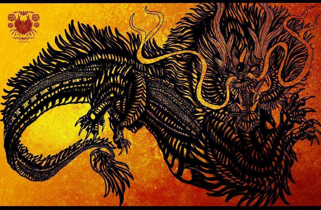 Chinese dragon wallpapers wallpaper cave - Ancient chinese art wallpaper ...