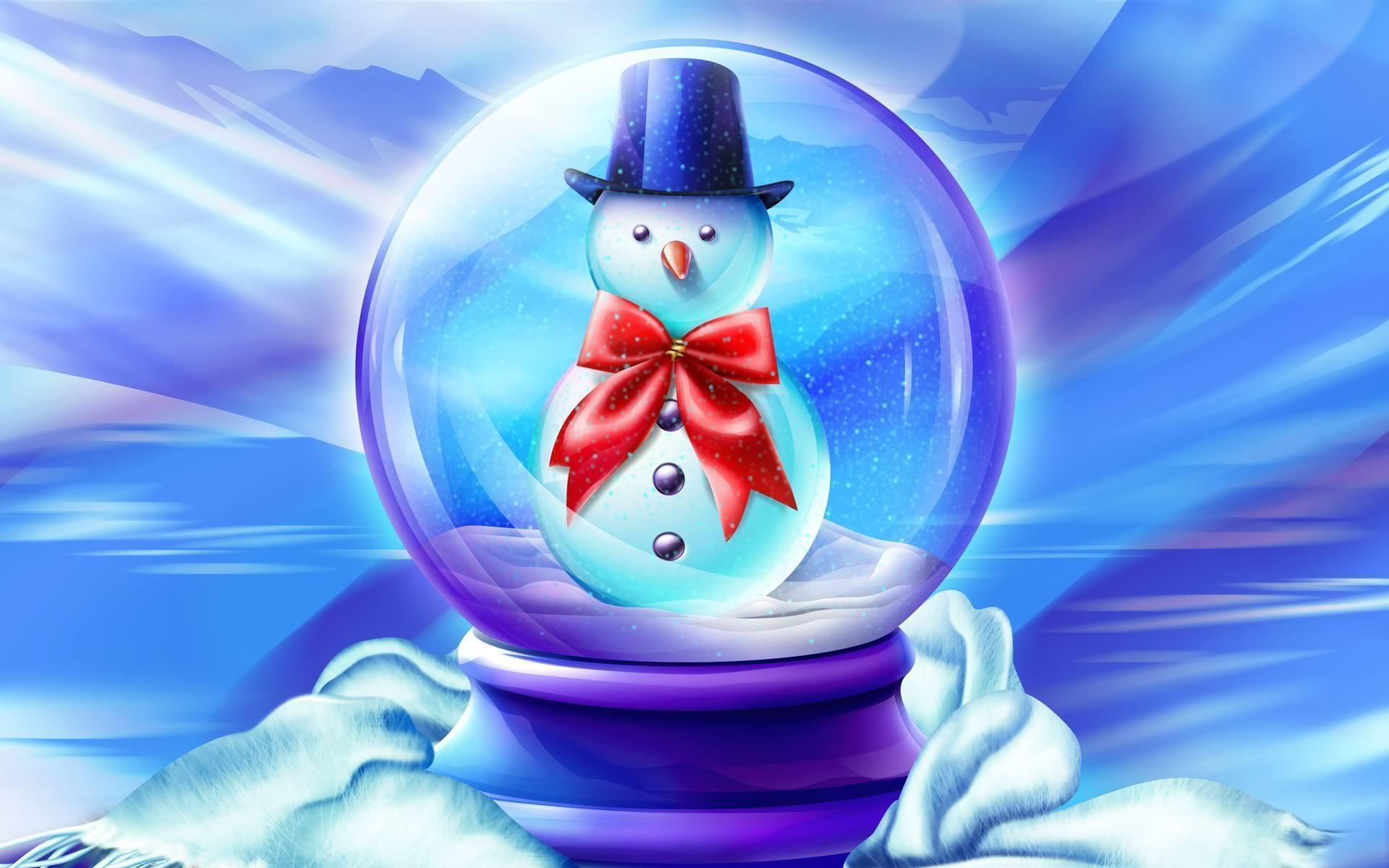 Free snowman wallpapers wallpaper cave - Free weihnachtskarten ...