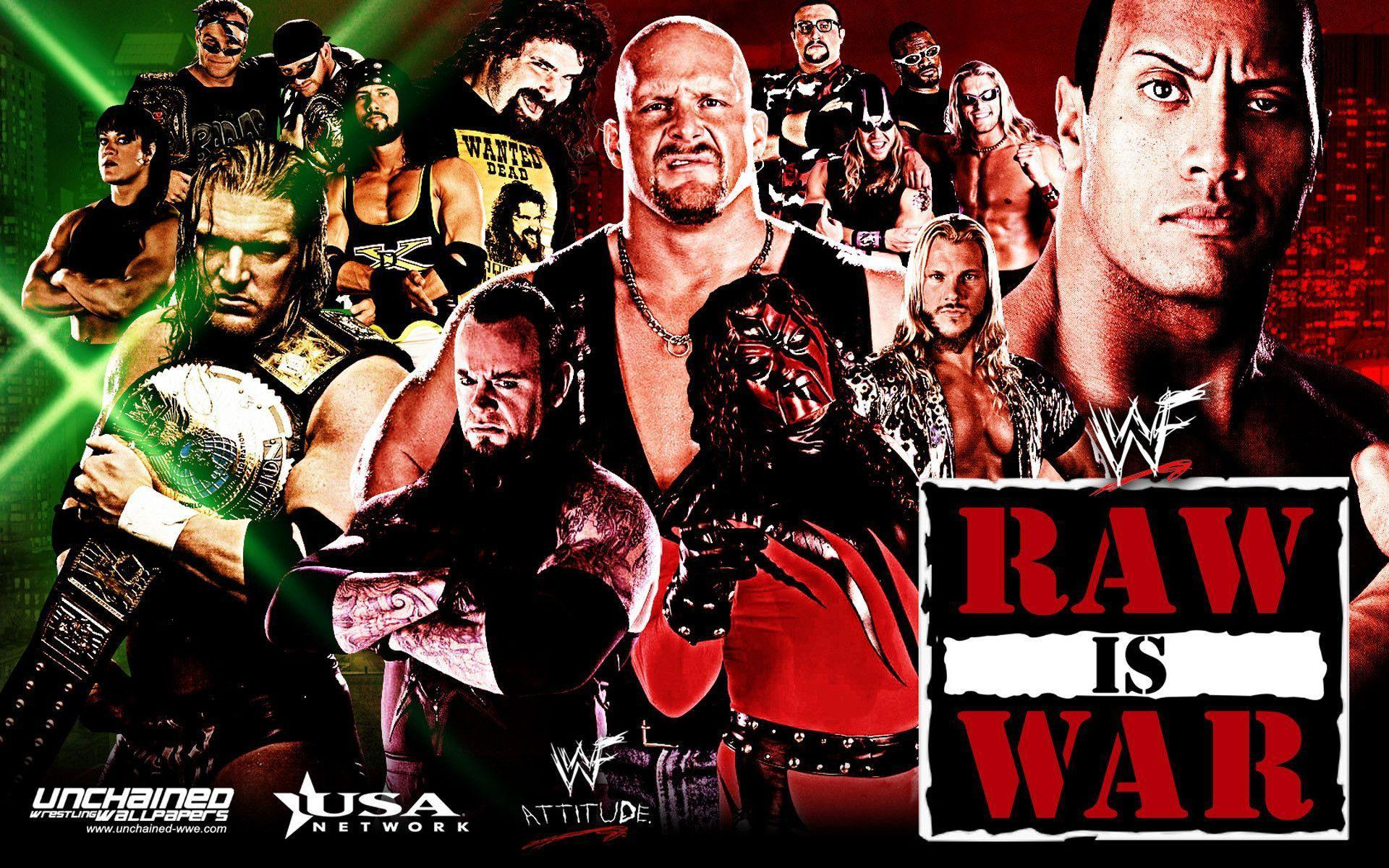 WWF Monday night Raw - WWE Wallpaper (31330022) - Fanpop