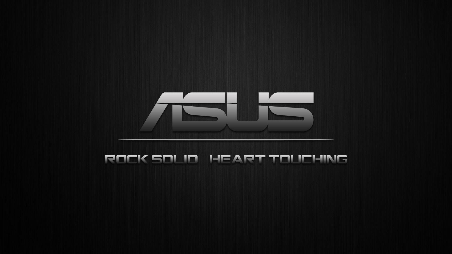 ASUS Rock Solid Heart Touching Wallpaper