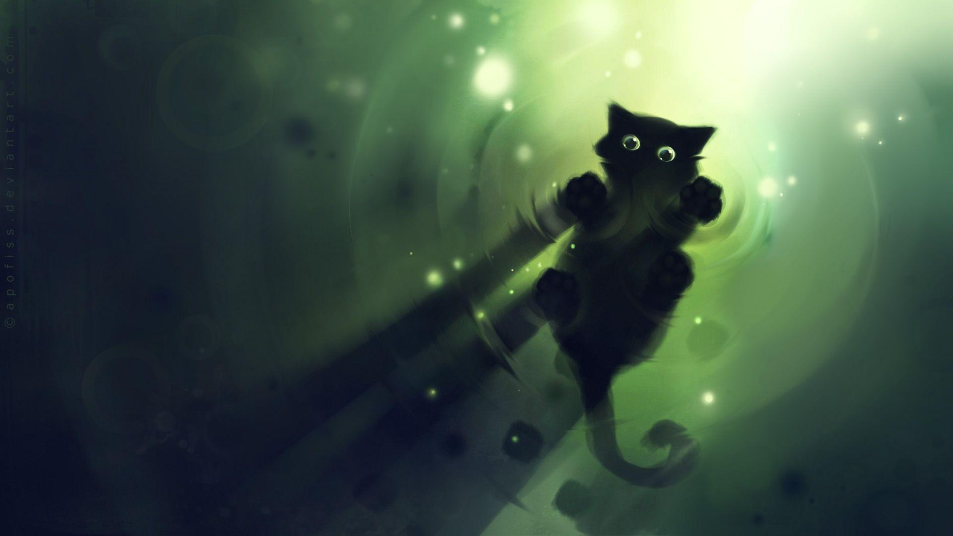 Cartoon Cat Wallpapers Wallpaper Cave