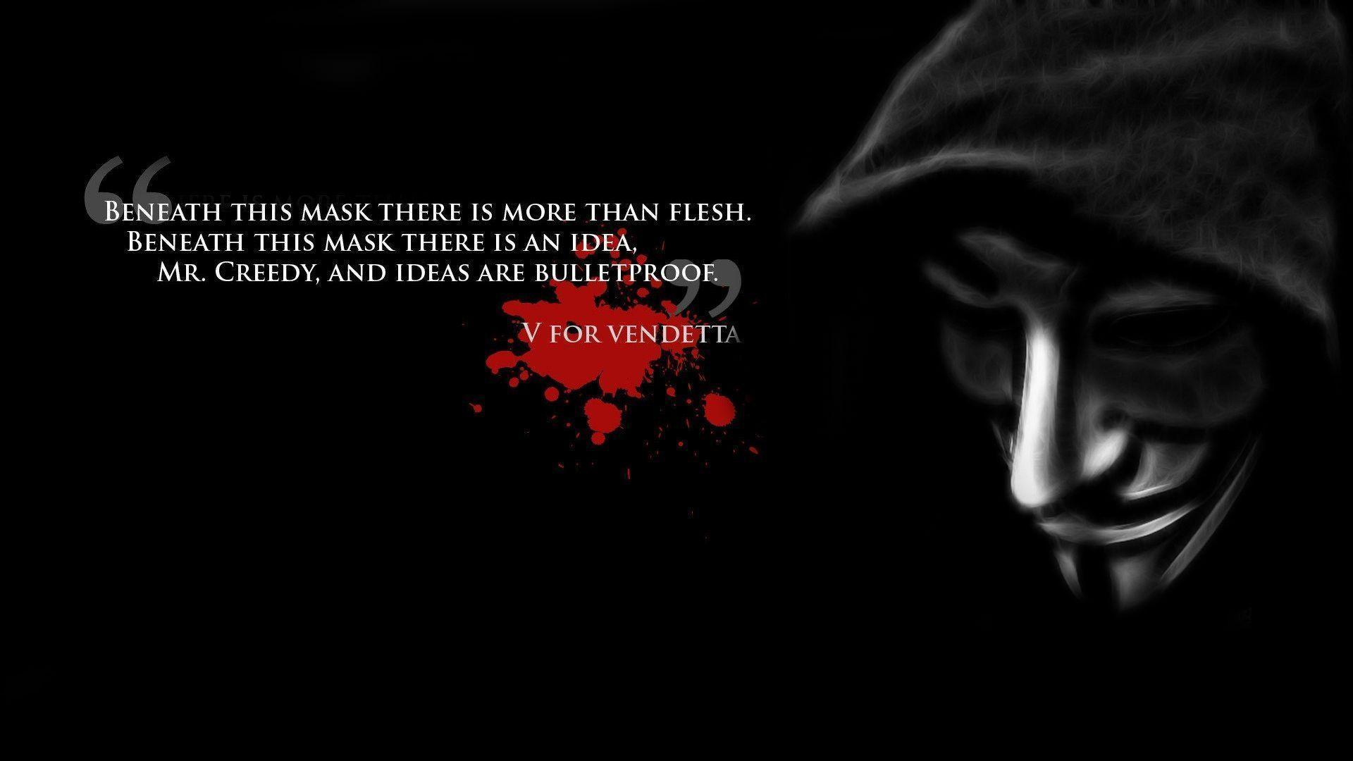 Images For > V For Vendetta Wallpaper Widescreen