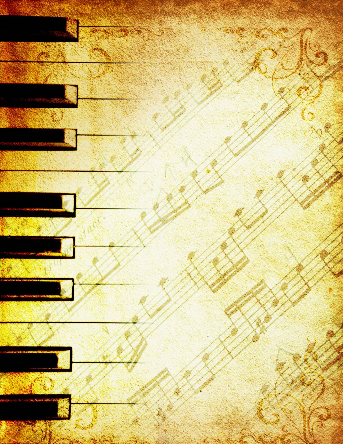 background piano sheet music pdf