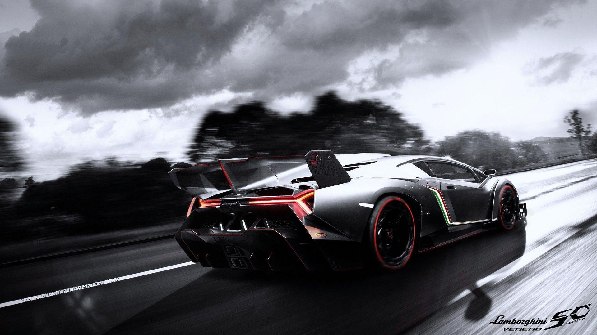 Lamborghini Wallpapers Black 3802 Full HD Wallpaper Desktop - Res ...