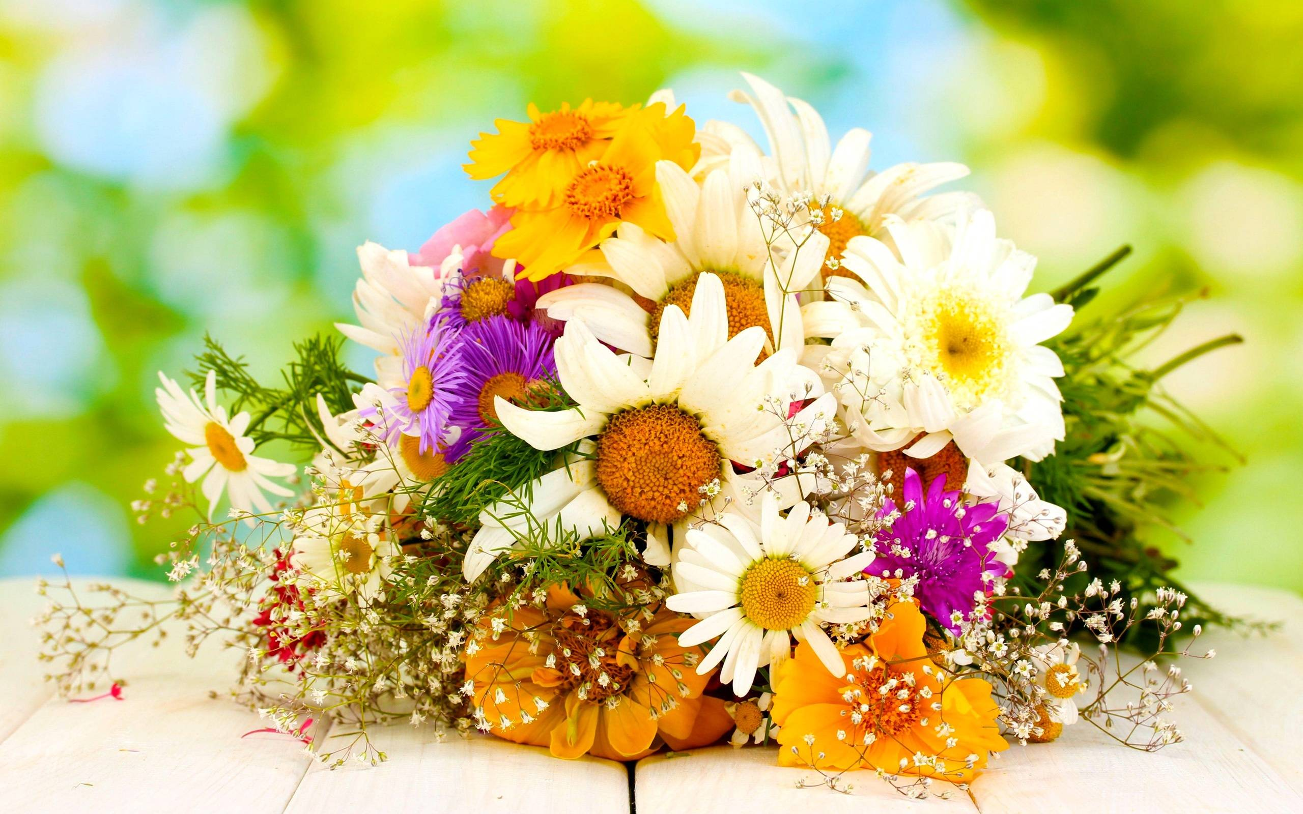 Beautiful Flowers Bouquet Wallpapers