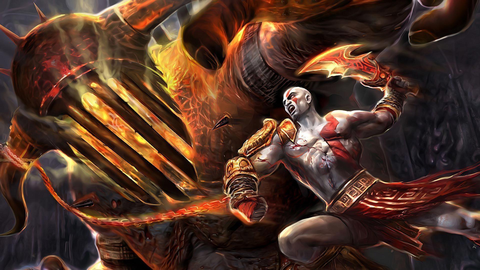 Kratos wallpapers hd wallpaper cave - Wallpaper kratos ...