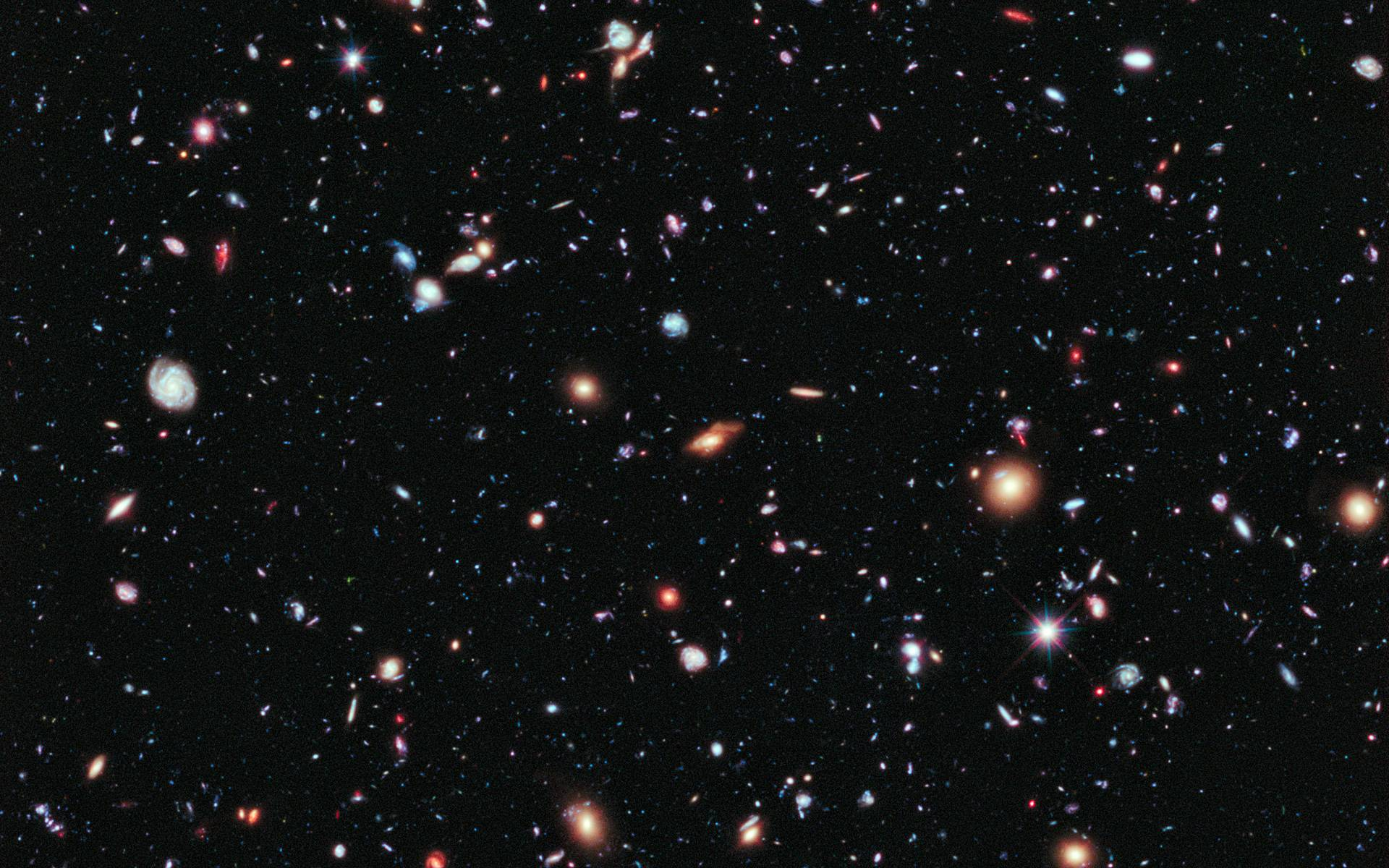 hubble deep field wallpaper 1600x1200-#13