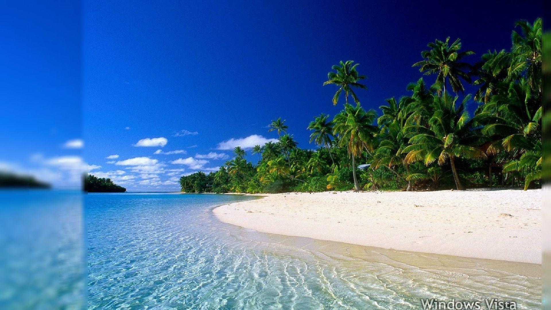 Hd Tropical Island Beach Paradise Wallpapers And Backgrounds: Tropical Desktop Wallpapers