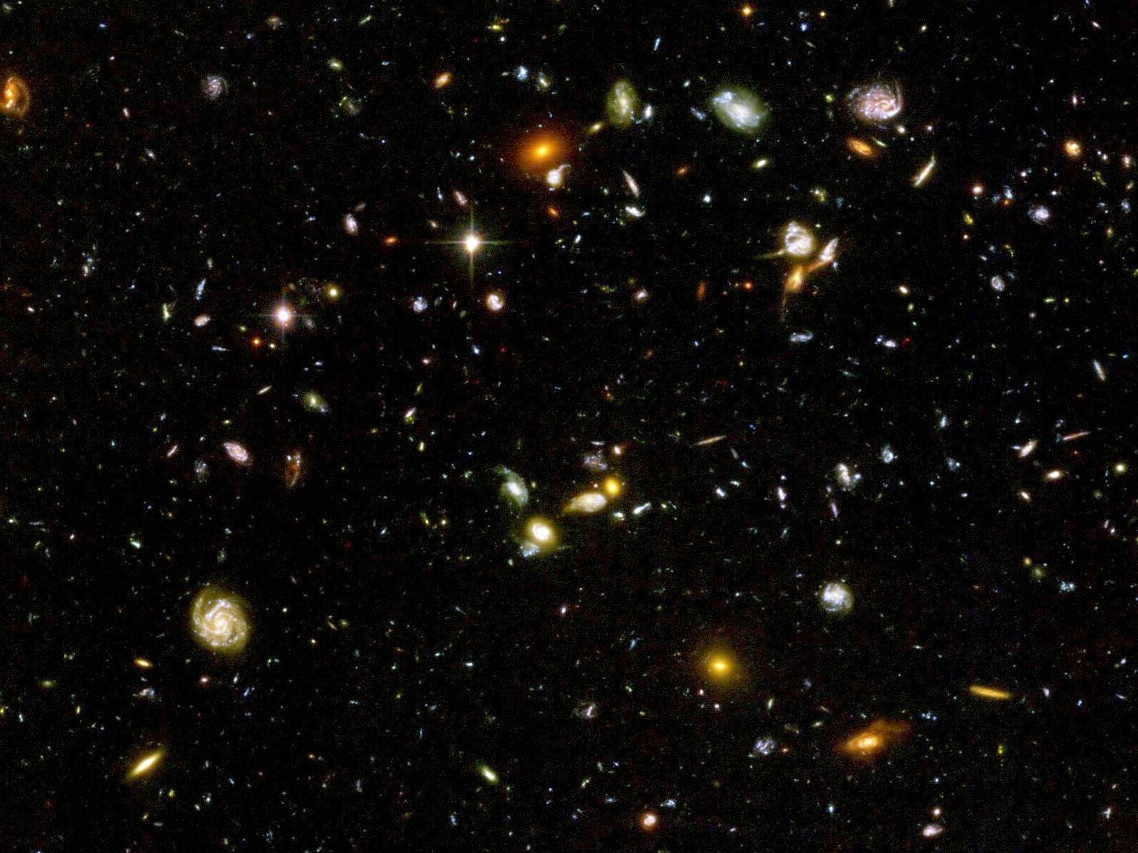 hubble deep field hd wallpaper - photo #9