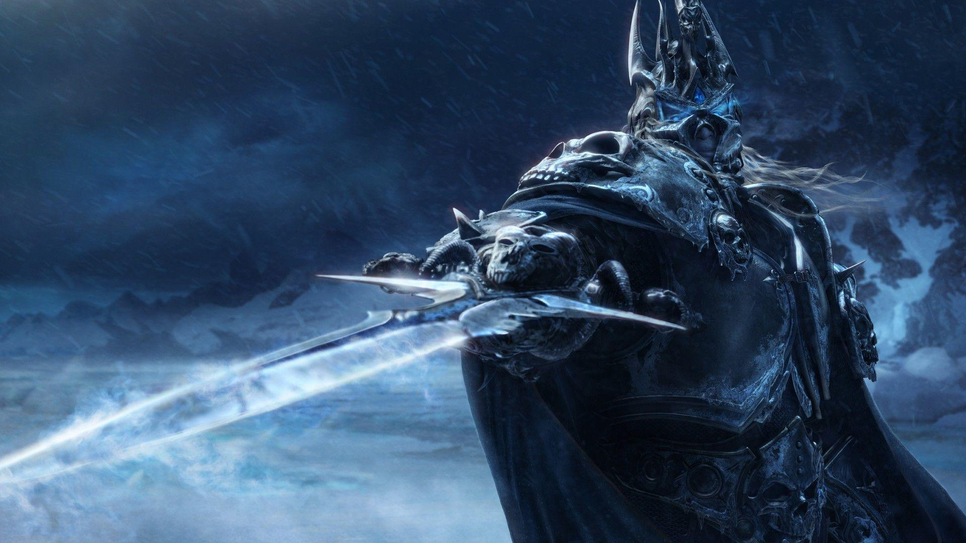 Lich King Sword (9755) - Download Game Wallpapers HD Widescreen