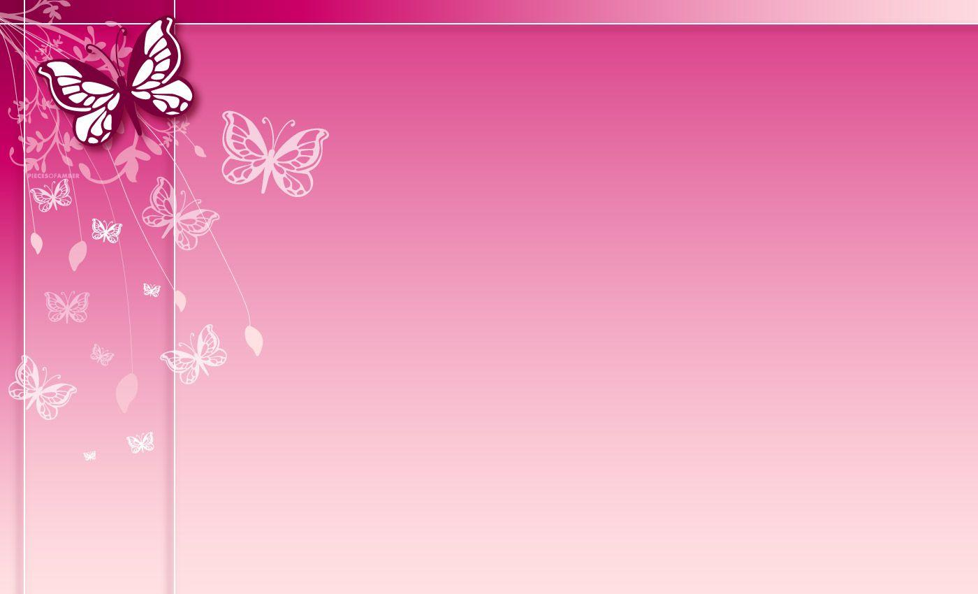 Pink Butterfly Backgrounds Wallpaper Cave