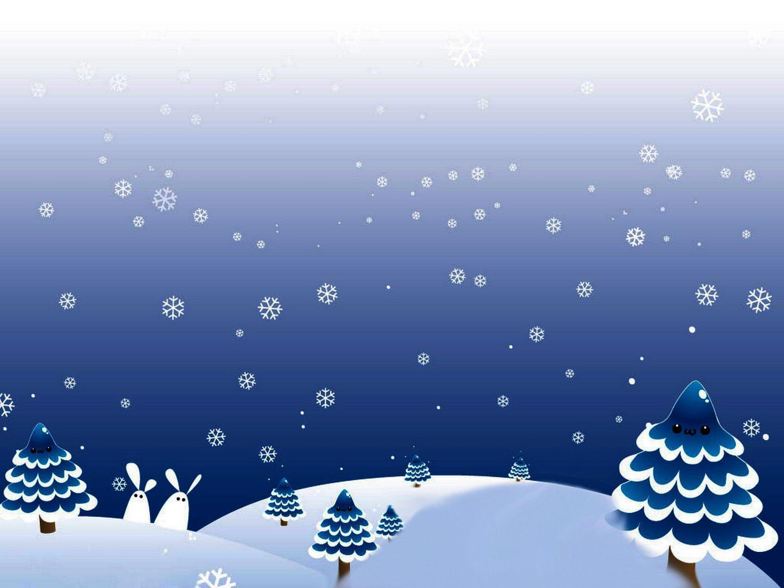 Winter Christmas Backgrounds - Wallpaper Cave