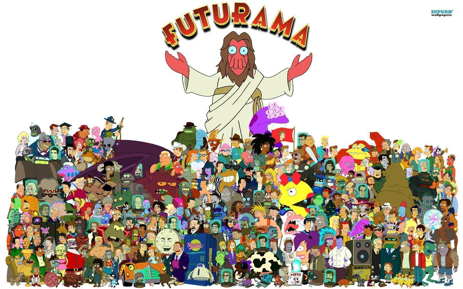 Desktop Wallpaper Collection: Futurama Edition | mindcontrolindustries