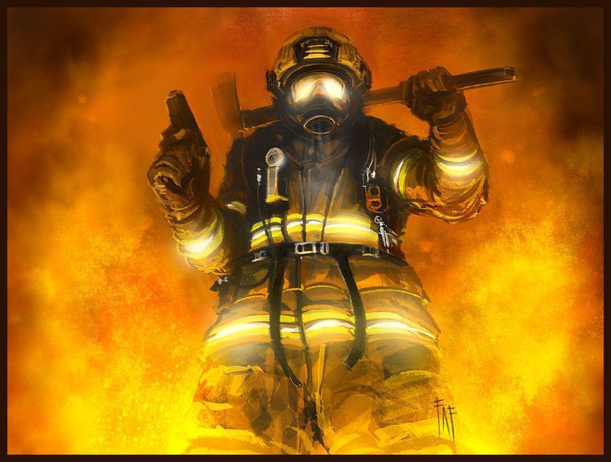 Fireman By Feenixfabay On DeviantArt