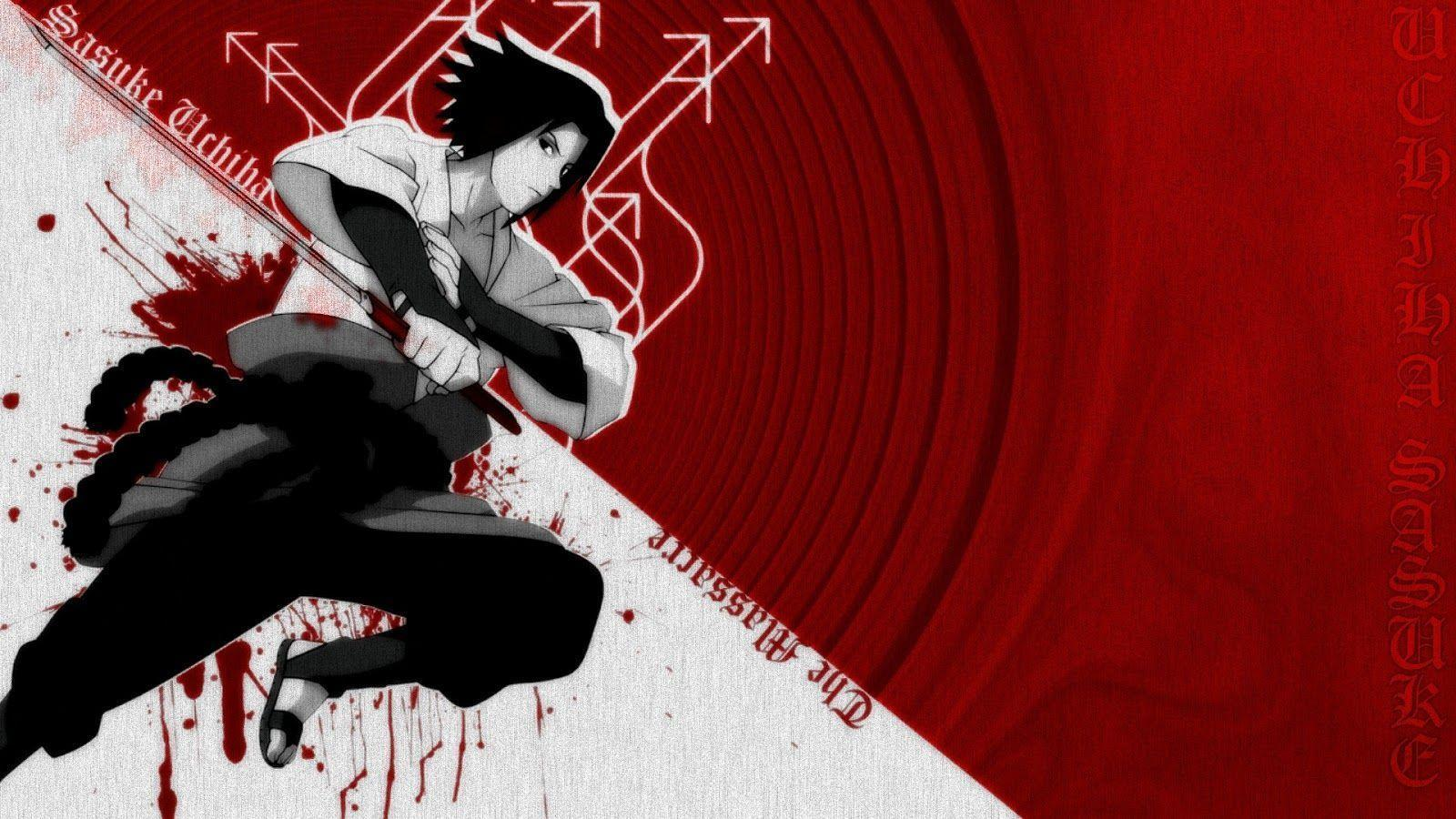 Wallpapers For > Sasuke Uchiha Shippuden Wallpapers