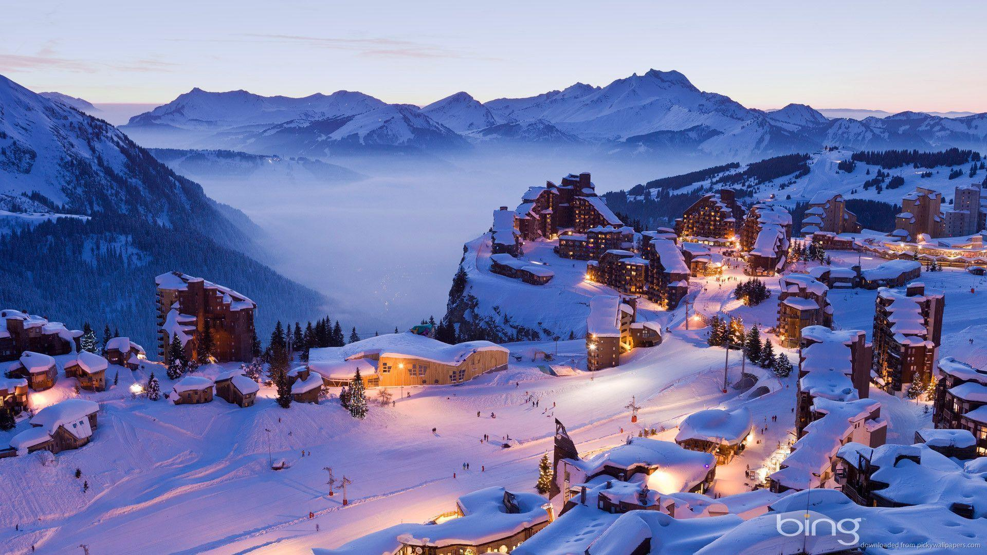 bing wallpaper hd bing winter village wallpaper 4161 ssofc