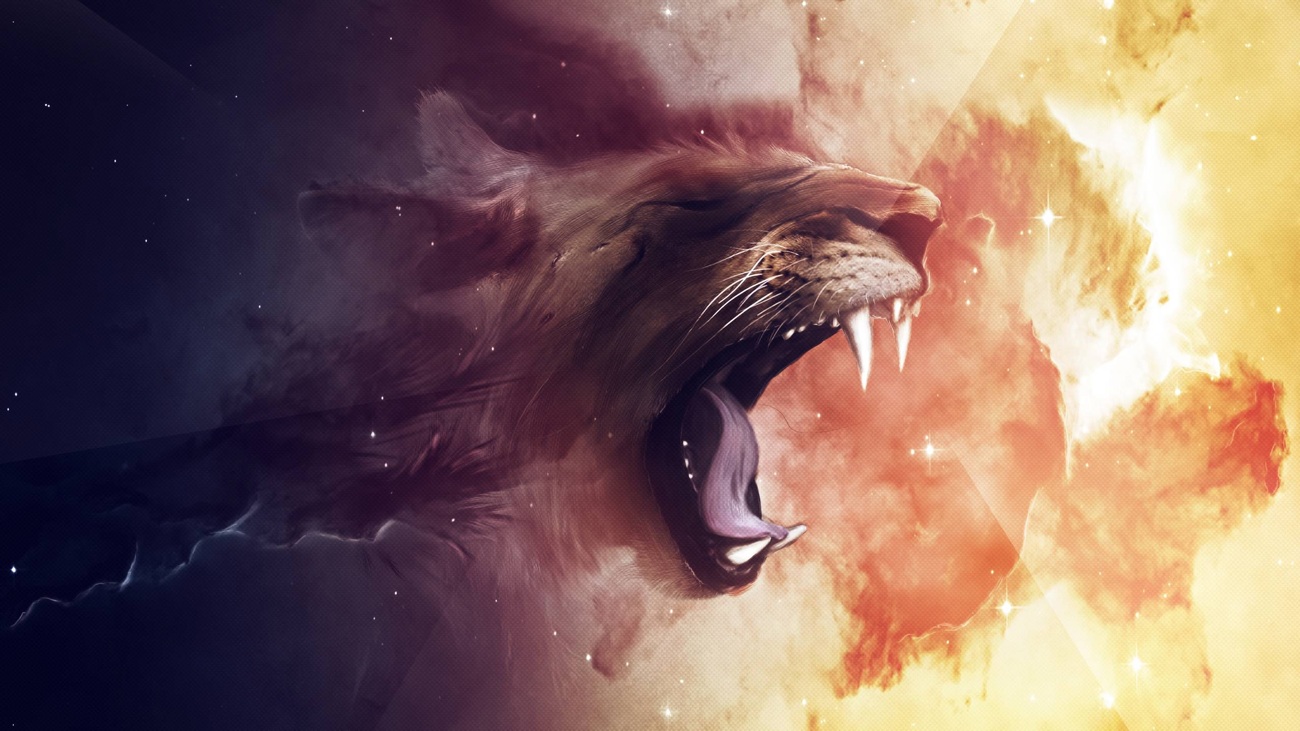 Lion Computer Wallpapers, Desktop Backgrounds 2560x1440 Id: 323327