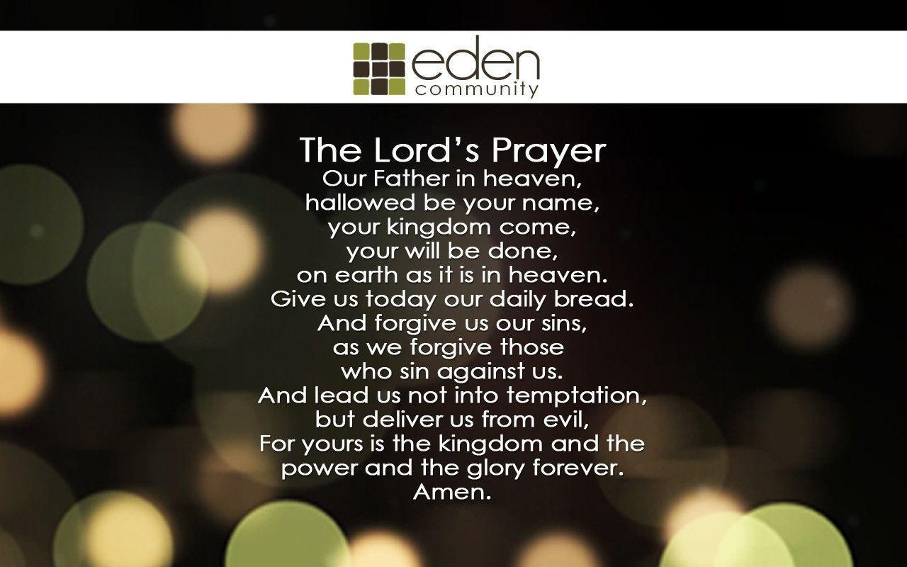 Pix For > Lords Prayer Wallpapers