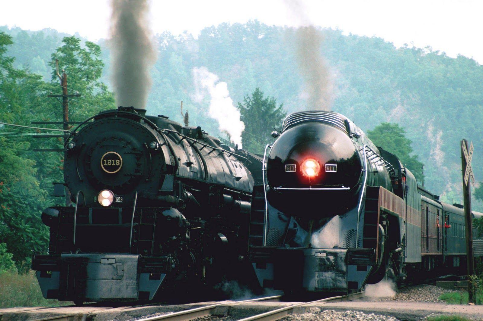 steam locomotive hd wallpapers - photo #1
