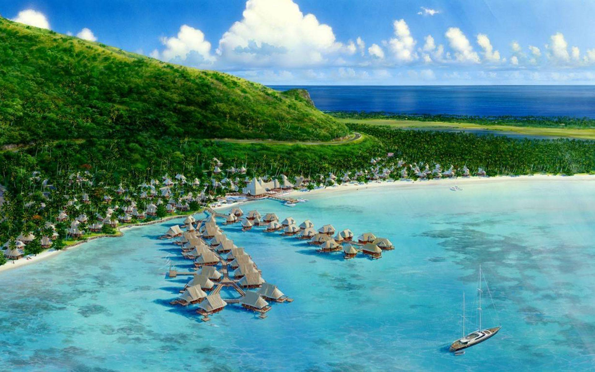 Hilton Moorea Lagoon Resort Spa Moorea Island French Polynesia