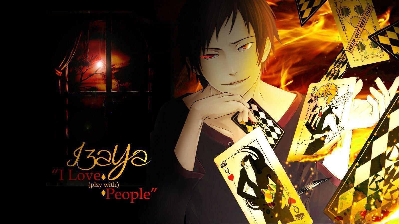 izaya orihara wallpapers wallpaper cave