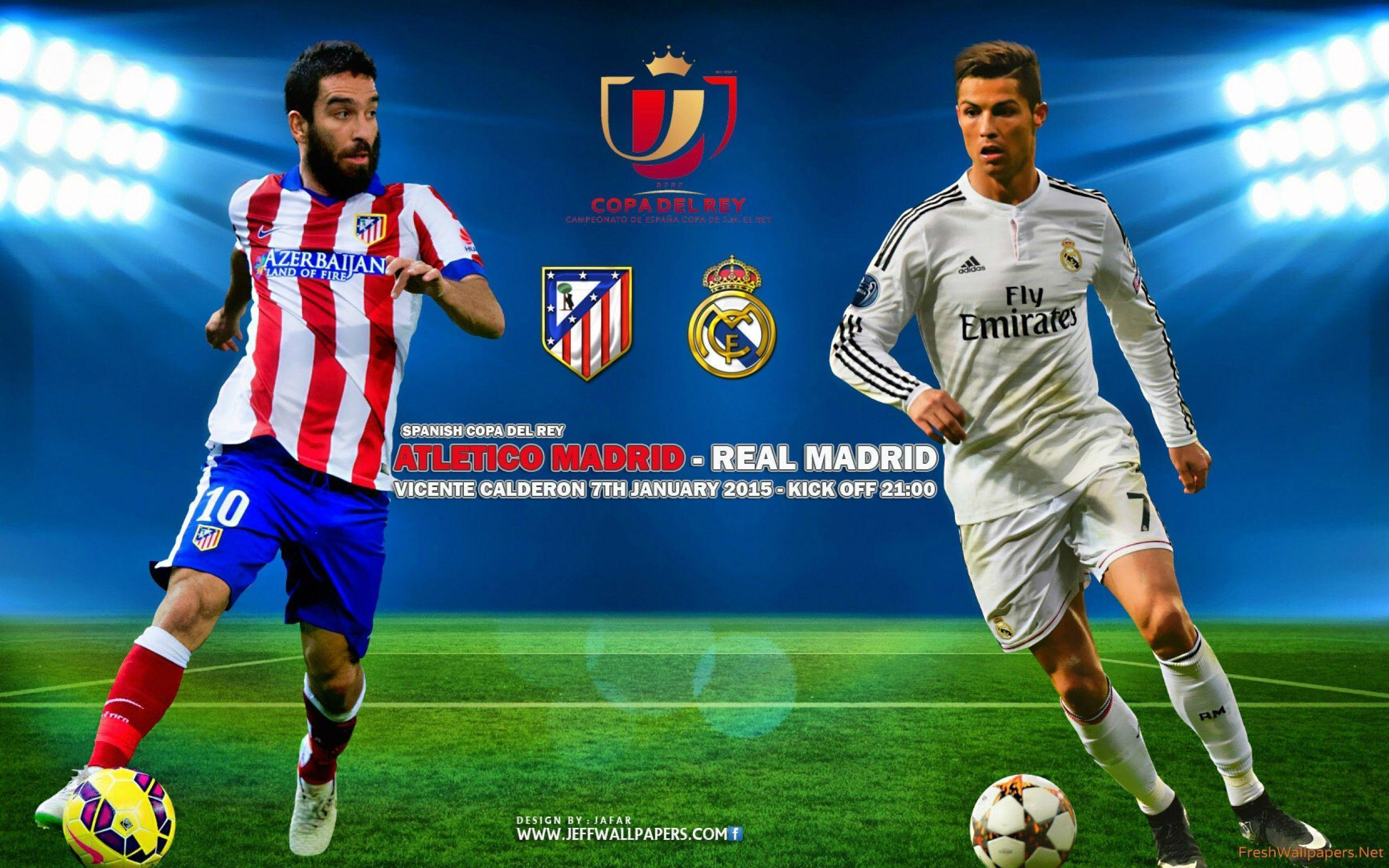 Atletico Madrid Vs Real Madrid: Real Madrid 2015 Wallpapers 3D