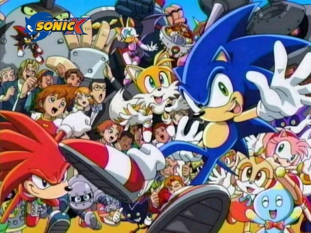 Sonic X Wallpapers Wallpaper Cave