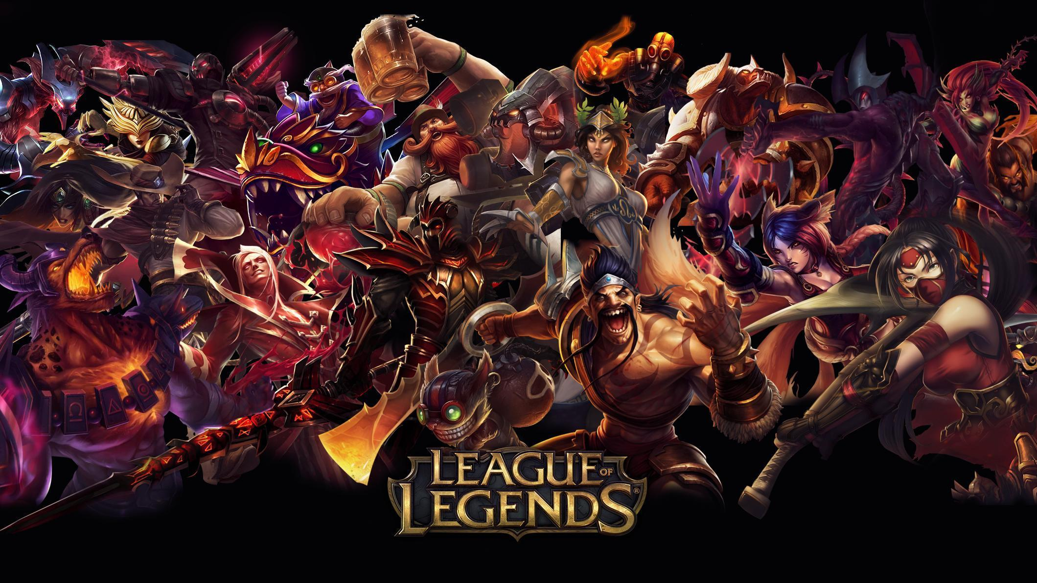 Обои league of legends