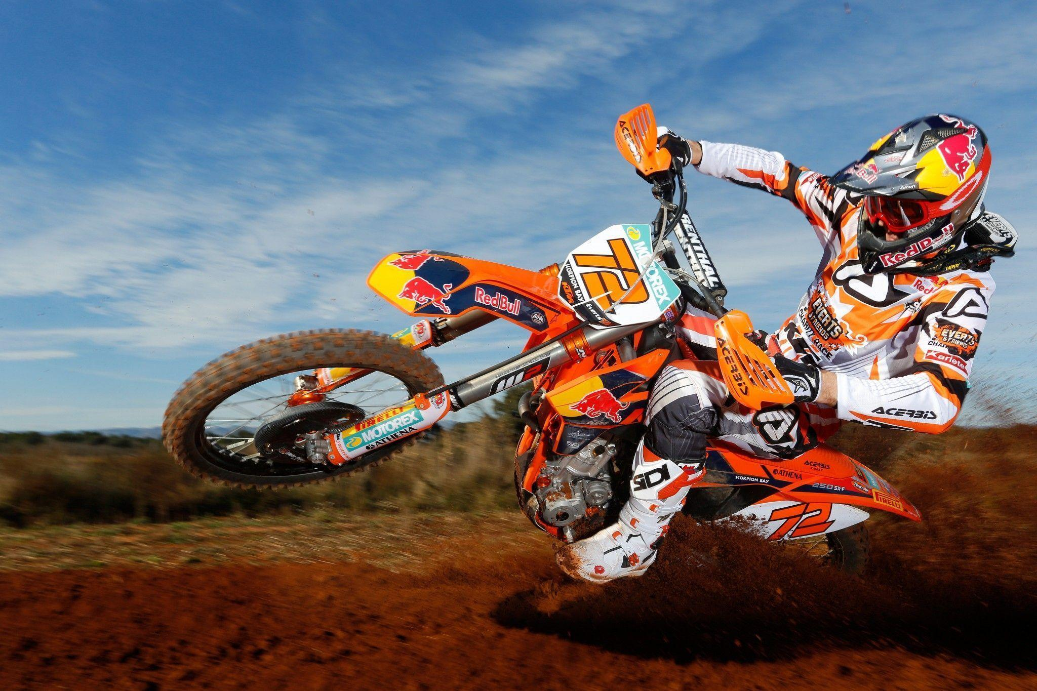 Ktm wallpapers wallpaper cave - Moto crosse ktm ...