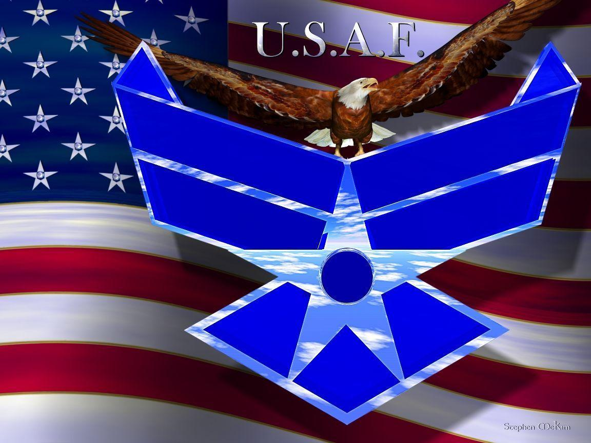 Pix For > U.s. Air Force Logo Wallpapers