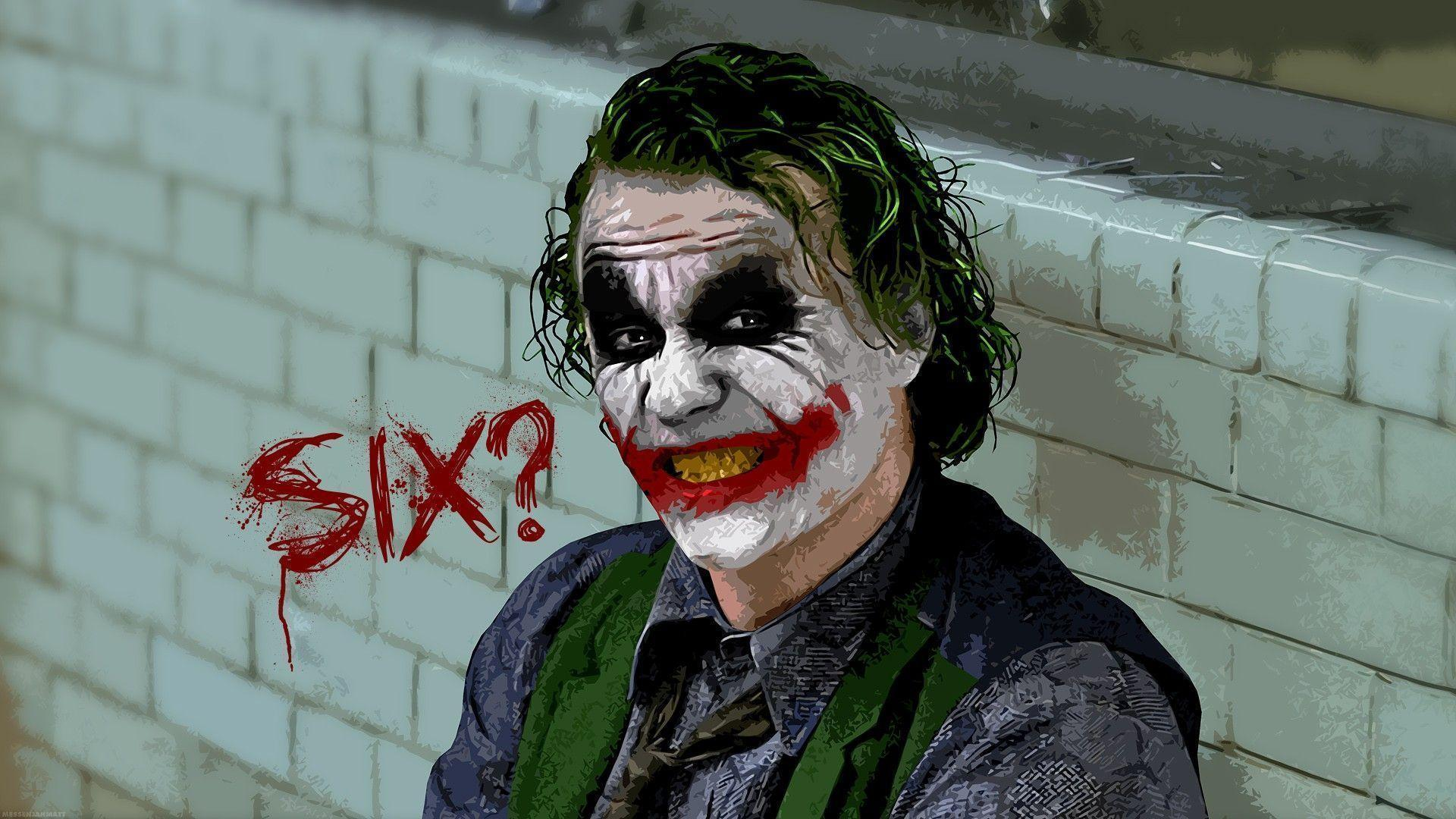Memes For > Joker Dark Knight Face Hd
