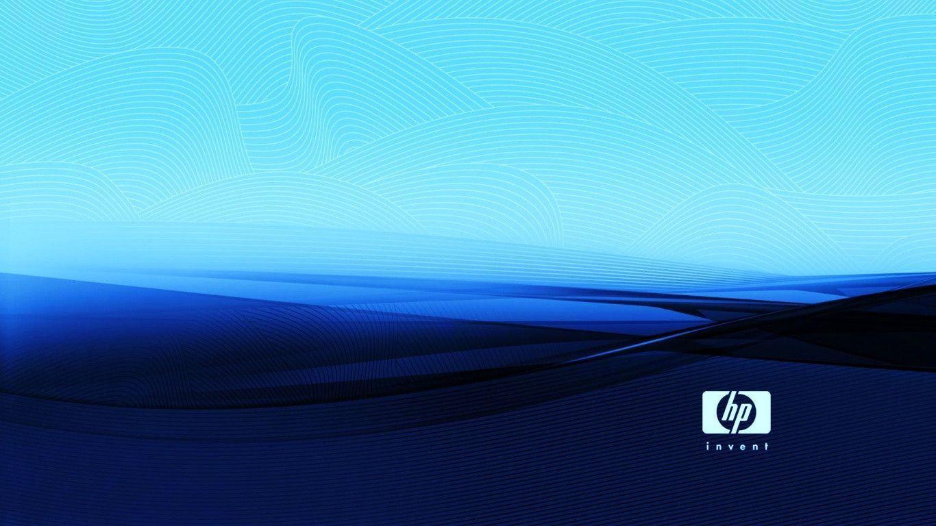 5800 Hp Logo Hd Wallpaper 1366x768 Gratis Terbaru