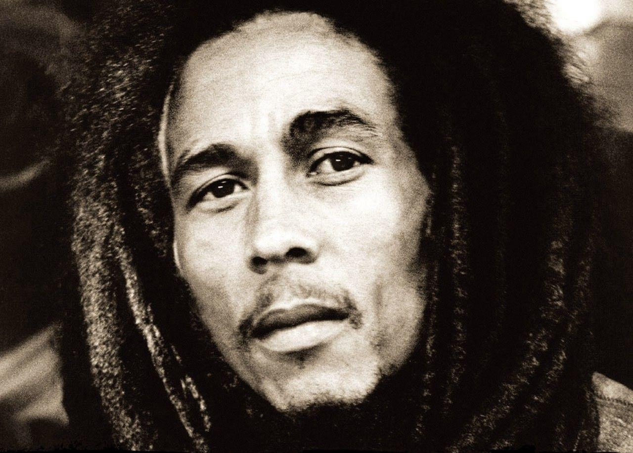 Wallpapers For > Bob Marley Wallpapers Black And White Hd