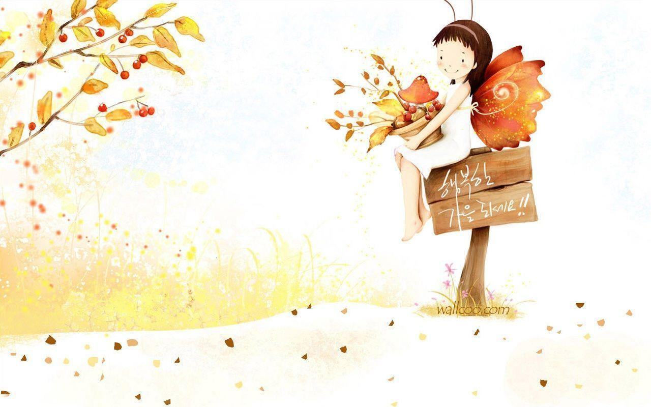 Wallpaper Fall In Love cartoon : cute cartoon Wallpapers - Wallpaper cave