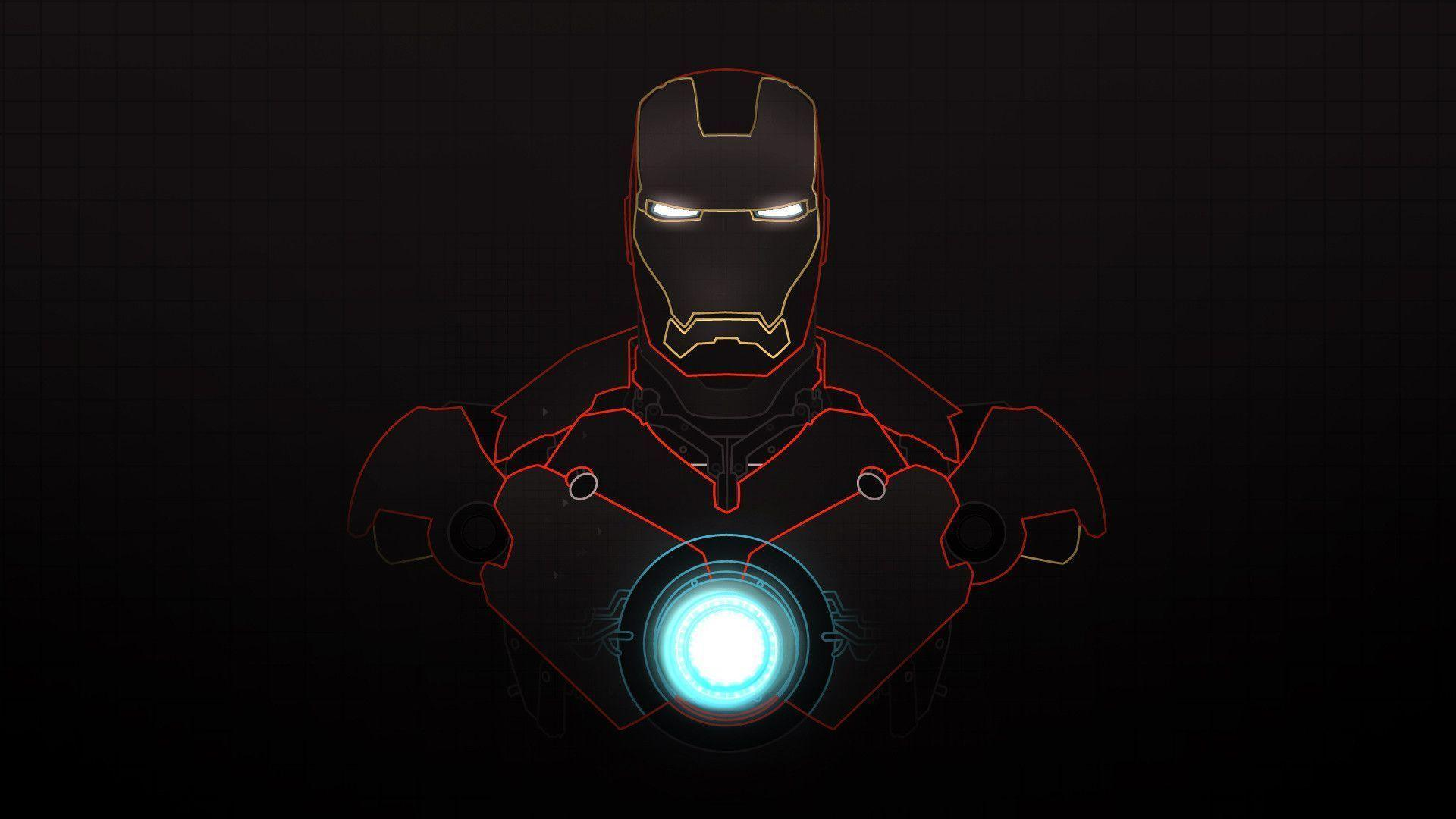 Iron man wallpapers wallpaper cave - Iron man heart wallpaper ...