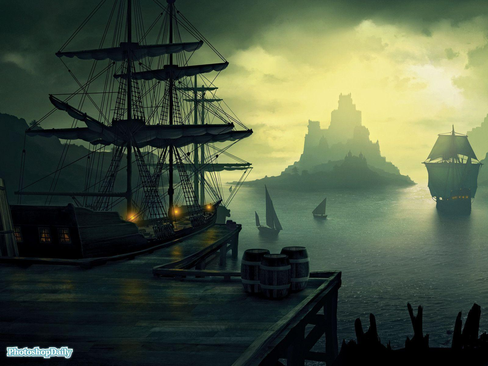 pirate ship computer wallpapers - photo #2