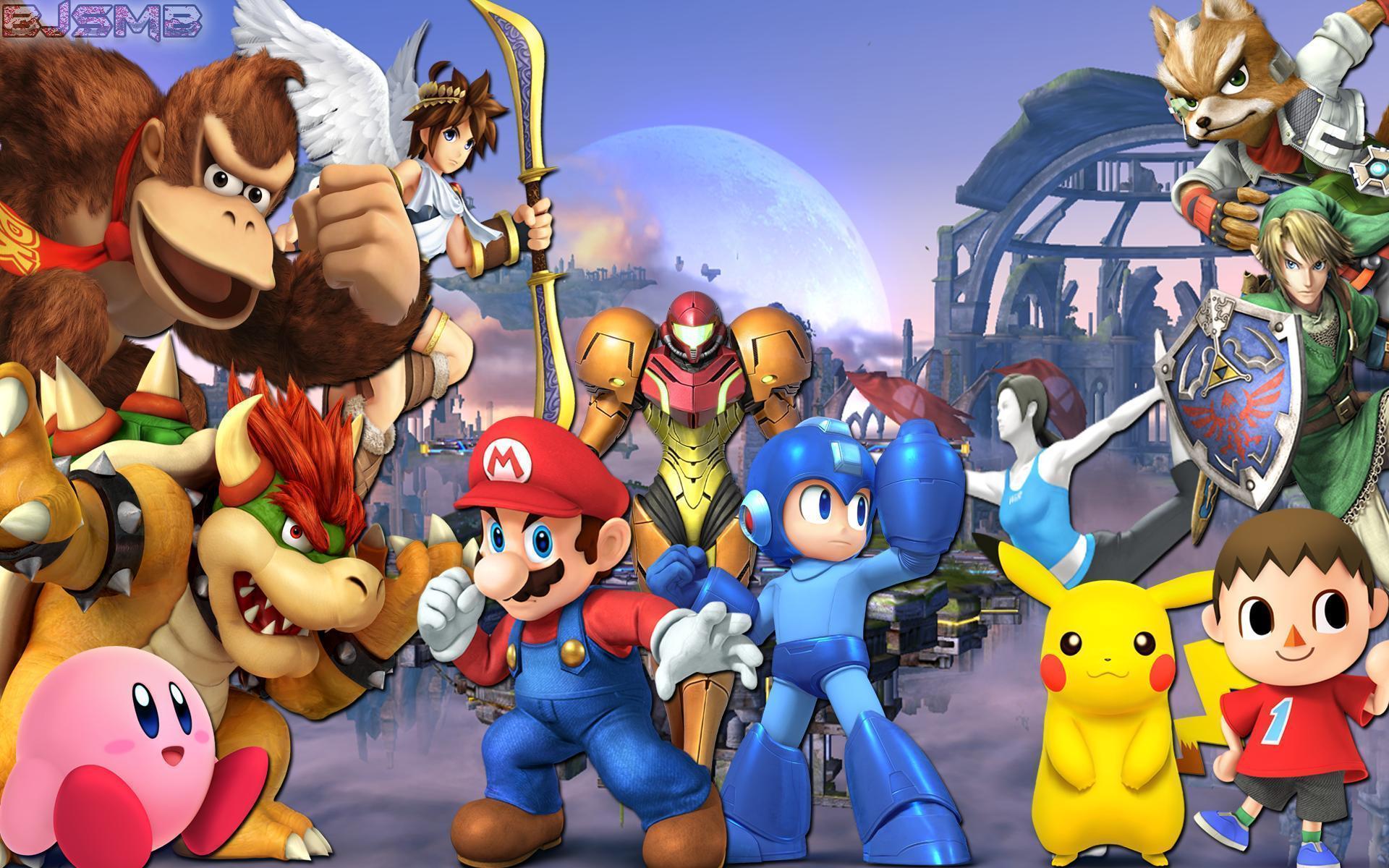 Super Smash Bros. Wallpapers - Wallpaper Cave