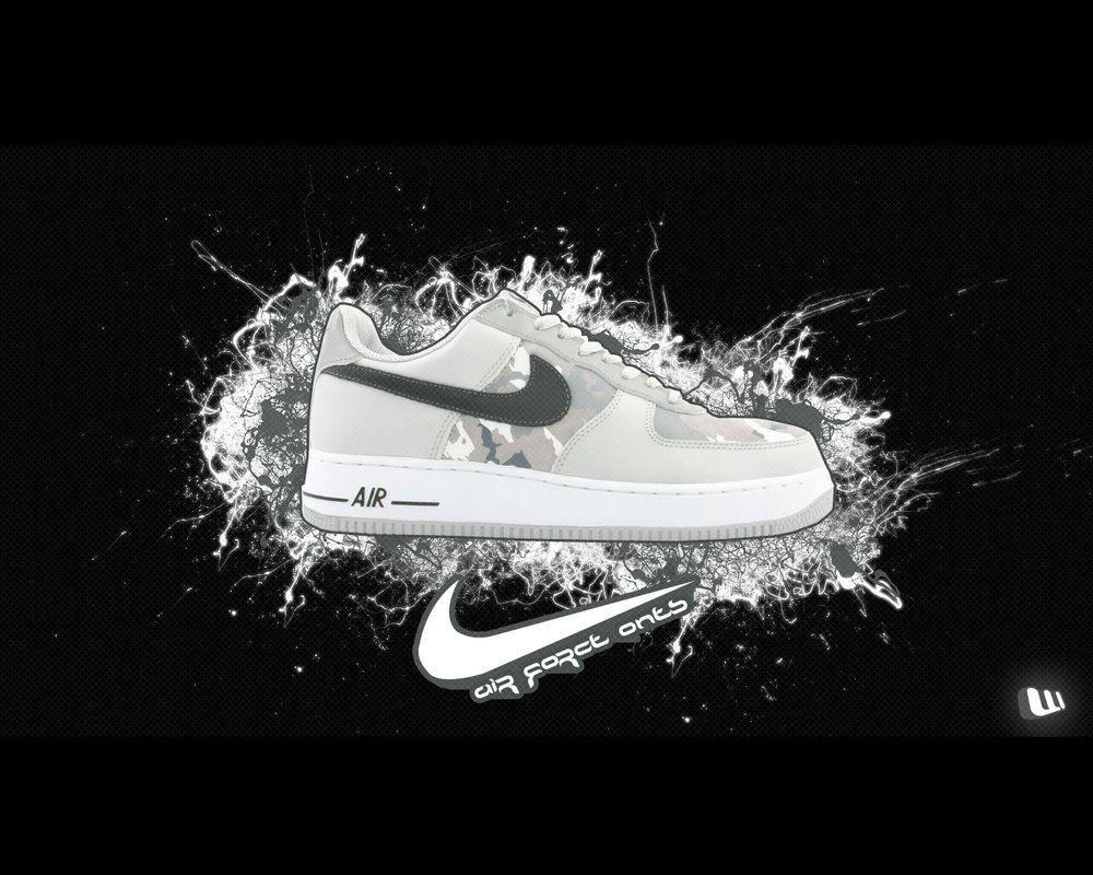 Wallpapers Wallpaper Nike Air Cave Force 1 3TJFK1cl