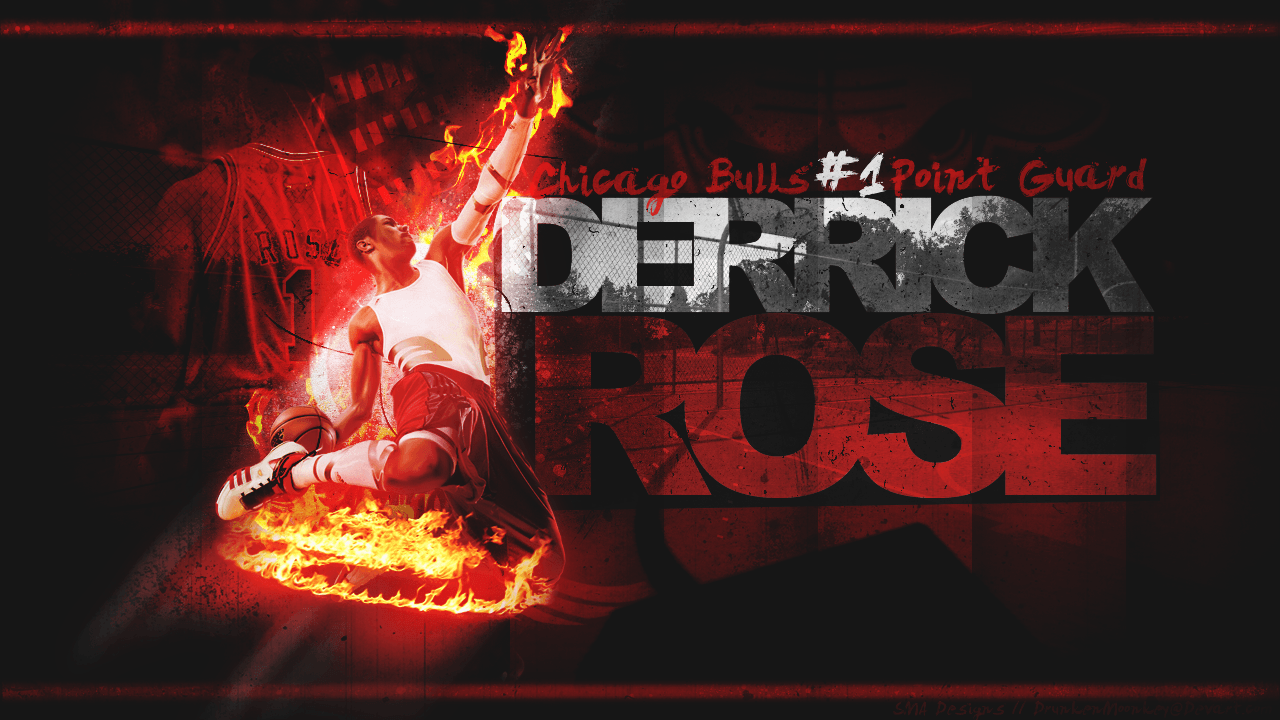 Chicago Bulls Derrick Rose HD Wallpapers Download Logo And Photo