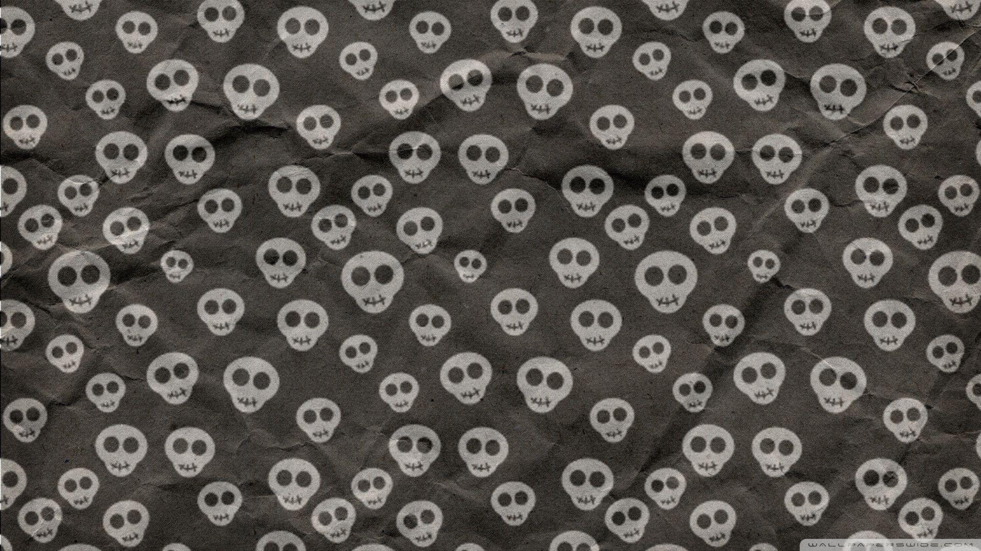 cute skull backgrounds wallpaper cave