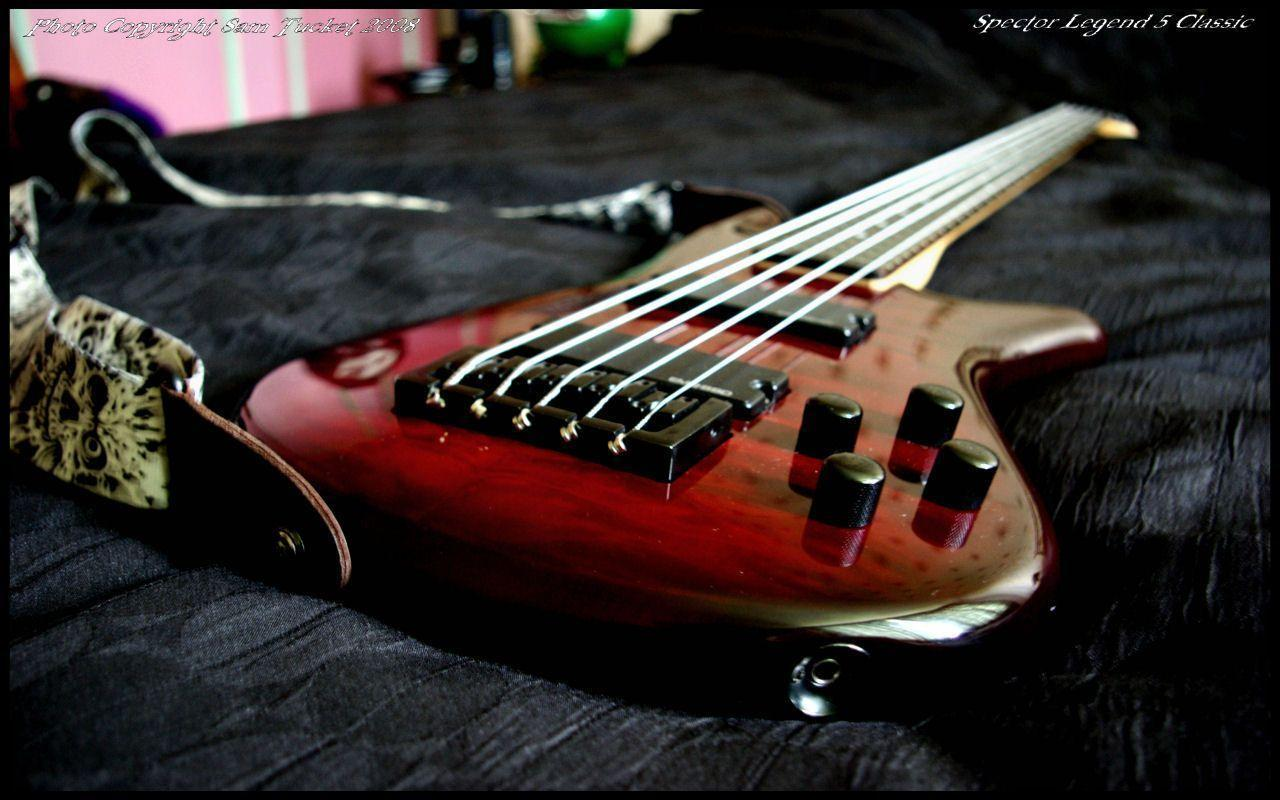Wallpapers For > 6 String Bass Guitar Wallpapers